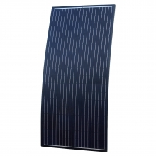 Black Reinforced Semi-Flexible Solar Panel