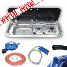 Smev 9222 Sink & Burner Bundle Deal 6