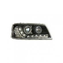 T5 Headlamp Black Inner LED Indicator (03-10) Pair