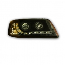 VW T5 Headlamp Set - Bulb Indicator