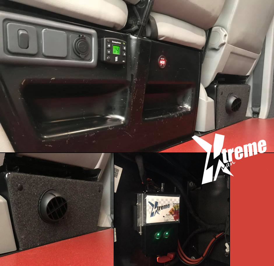 xtremevan eberspacher vw t5 t6 ford transit custom night heater