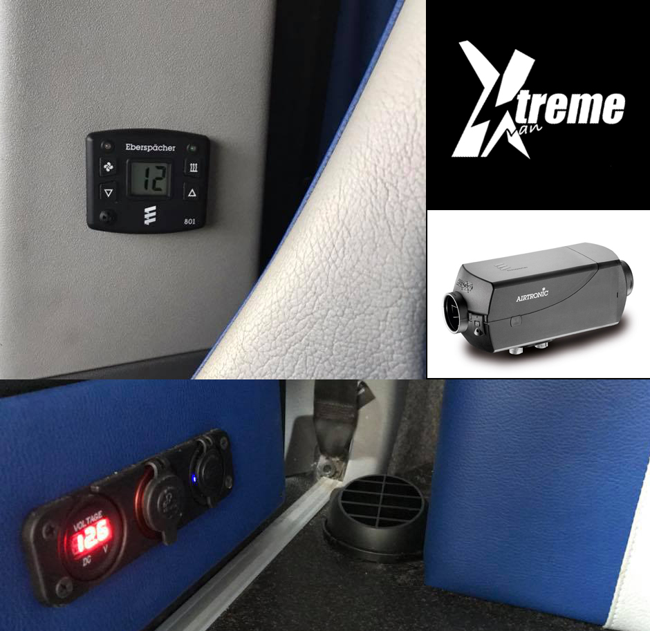 xtremevan eberspacher van heating, authorised distributor and fiters