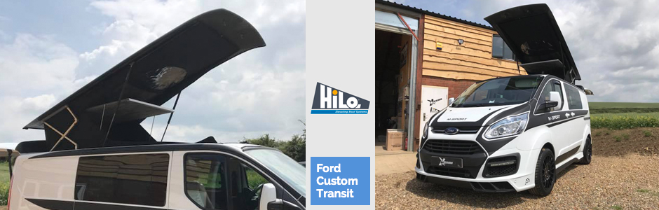 hilo roof fitters ford custom transit xtremevan
