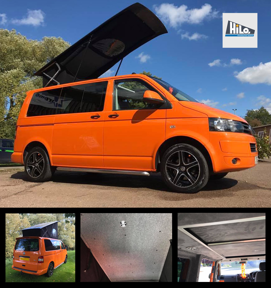 xtremevan hilo roof fitters vw t5 t6 ford custom