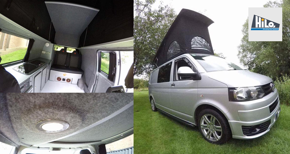 hiloroof approved fitters xtremevan VW t5 t6