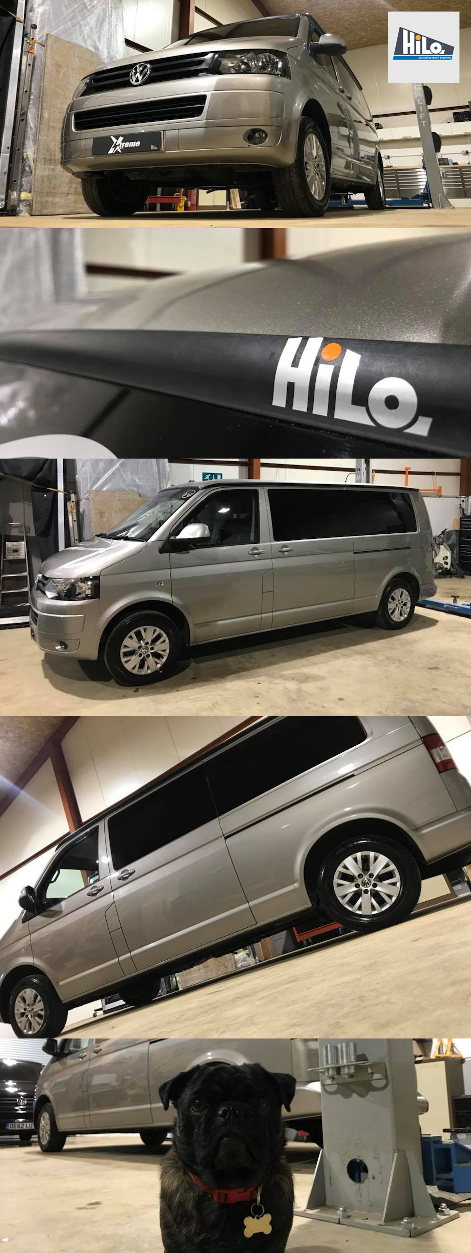 xtremevan hiloroof vw t6 conversion