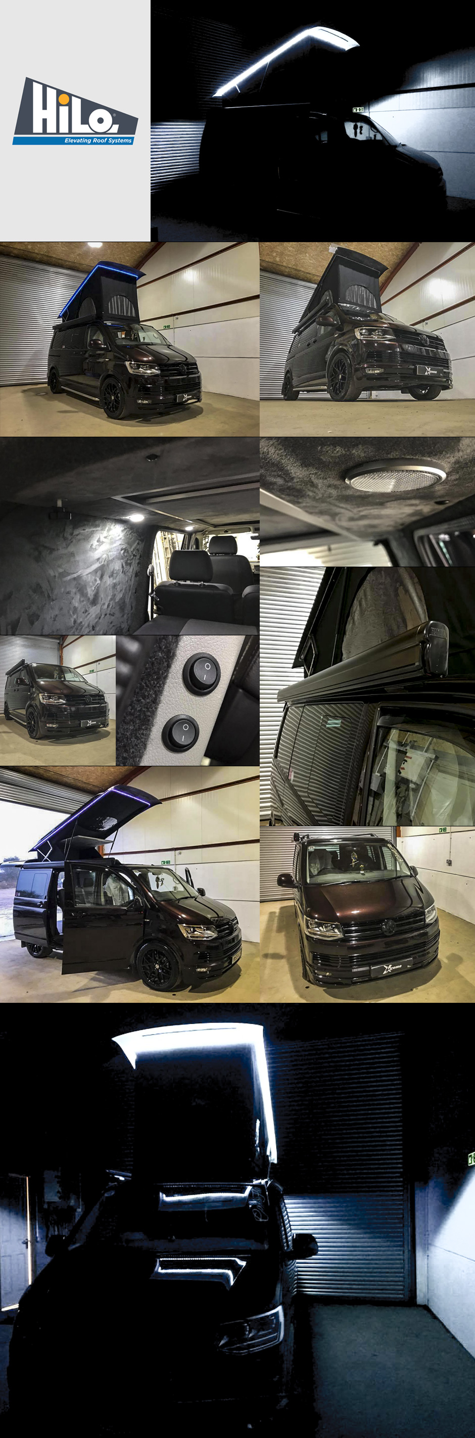 hiloroof fitters xtremevan vw t5 t6 conversions