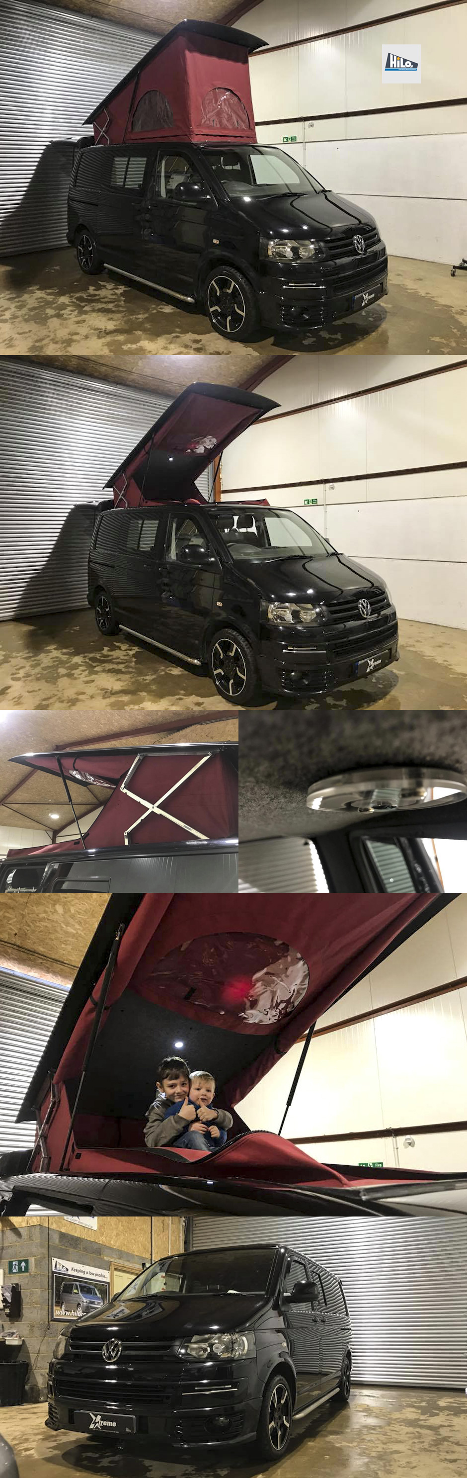 xtremevan hilo roof vw t6 van conversion