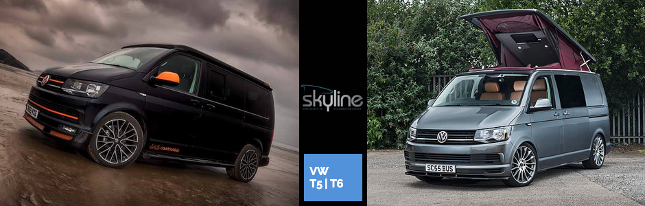 skyline poptop roof fitters xtremevan conversions vw t5 t6