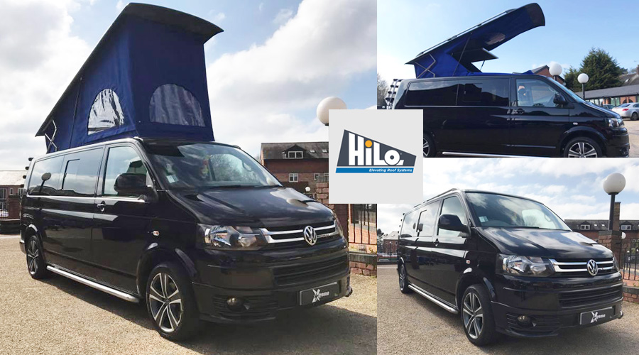 xtremevan hiloroof supply and fitted, T5 T6 Volkswagan
