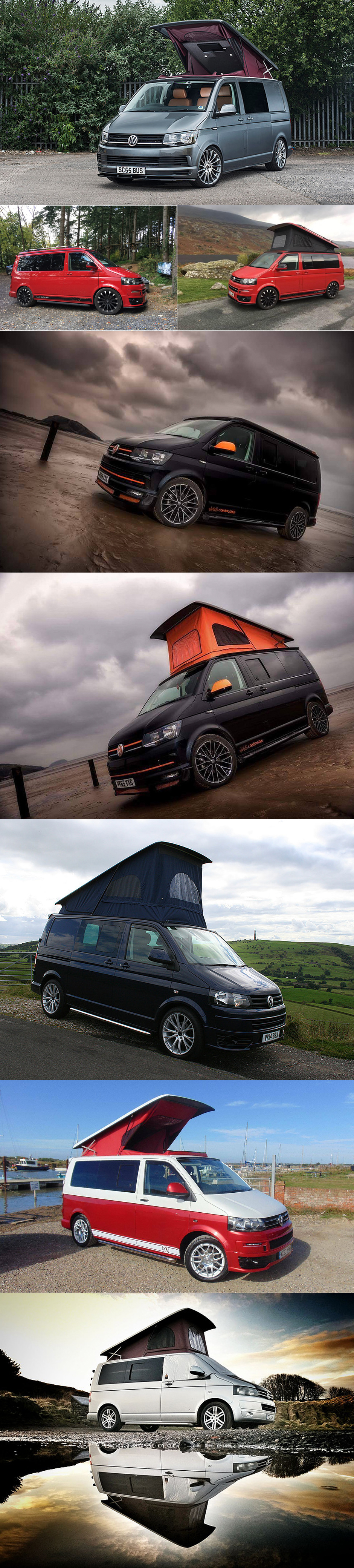 vw t5 t6 skyline poptop roof xtremevan conversions