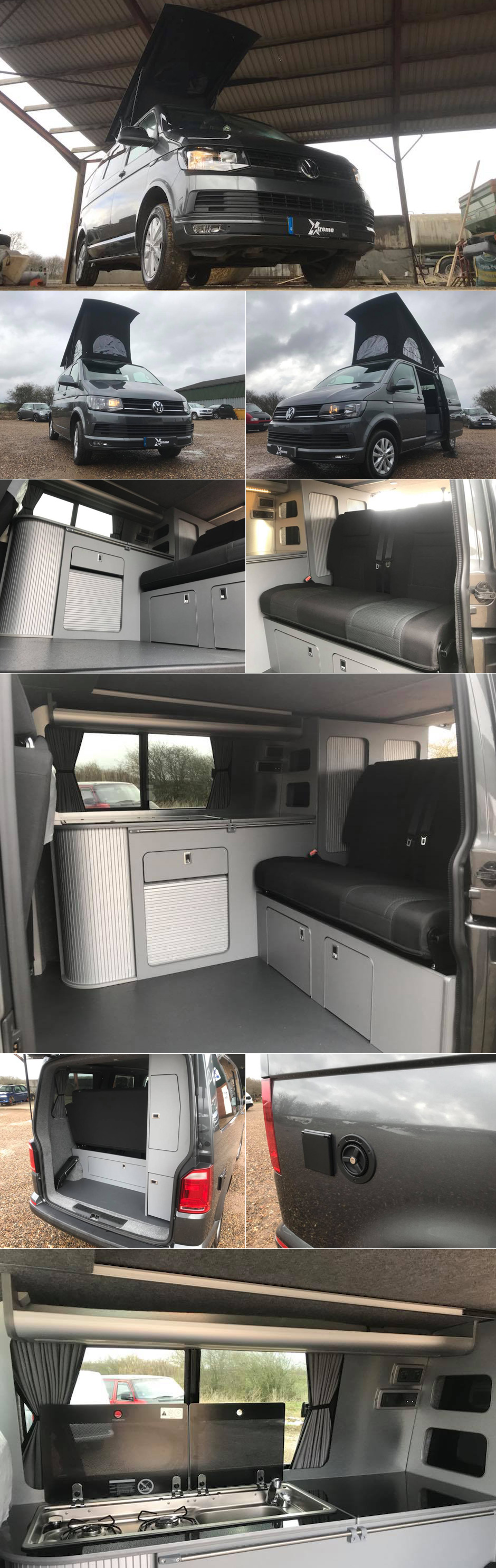 hiloroof fitters xtremevan vw t6 conversions